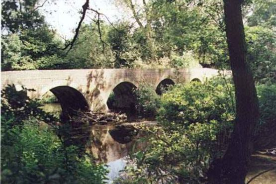 Four Arches bridge at the end of the DIngles