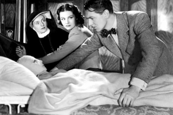 Promotional still from the 1938 film The Lady Vanishes,